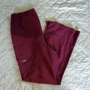 Size L Cherokee maternity scrub pants